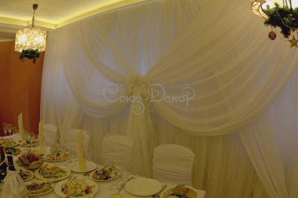 Оформление свадьбы цветами и свечами 9