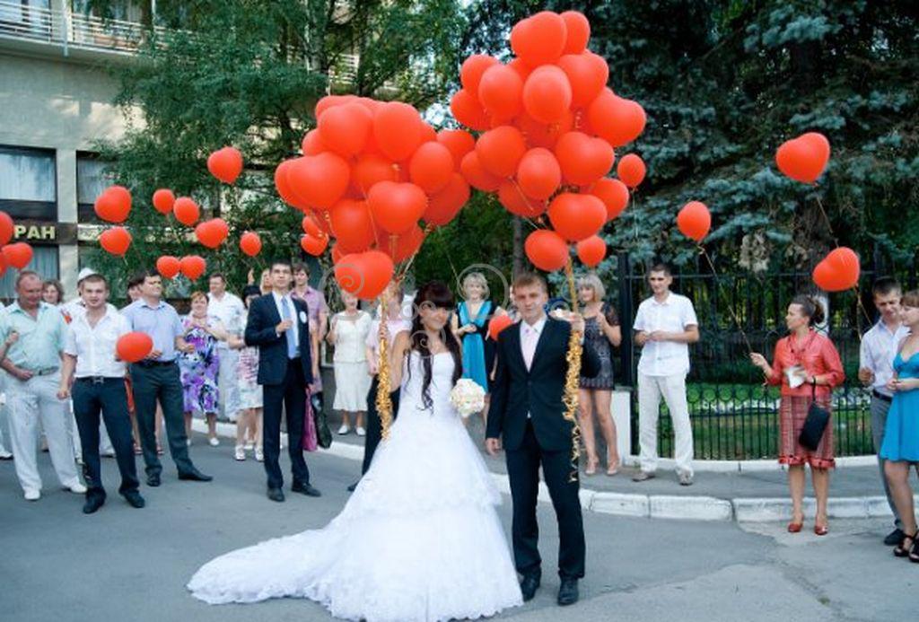 Запуск на свадьбу