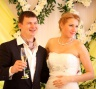 Лимонная свадьба - молодожены