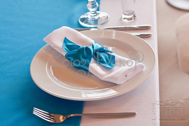 красивое оформление салфеток на стол на свадьбу