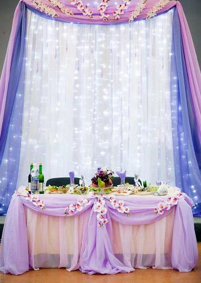 Оформление свадебного зала, декор банкетного зала - Союз-декор