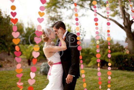 Примеры оригинального оформление свадебного торжества