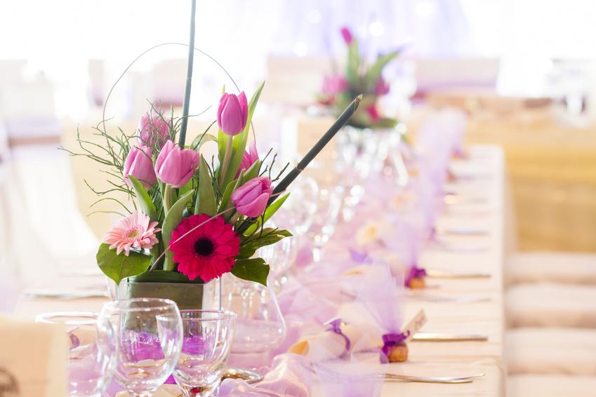 Композиции на стол на свадьбу своими руками