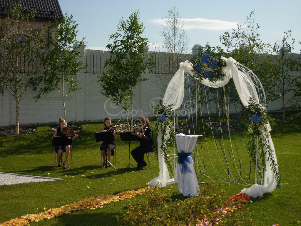 Свадебная арка своими руками - цветочная, из ткани или шаров