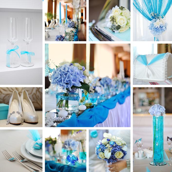 Оформление свадьбы в морской стилистике