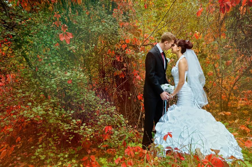 Свадьба в осеннем стиле - оформление от Союз-декор