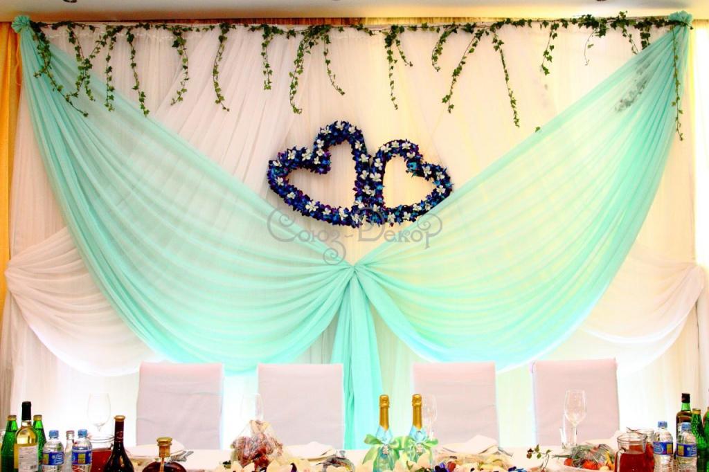 Свадебные украшения для зала в аренду